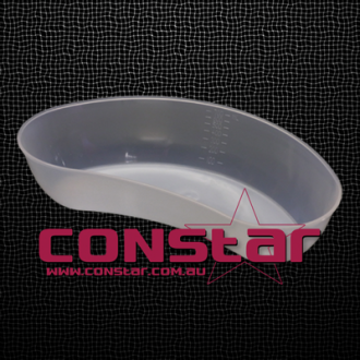 kidney dish plastic clear