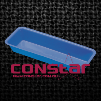 injection tray plastic blue