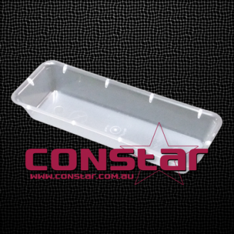 injection tray plastic clear
