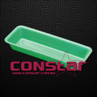 injection tray plastic green