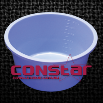 1000ml disposable bowl plastic blue