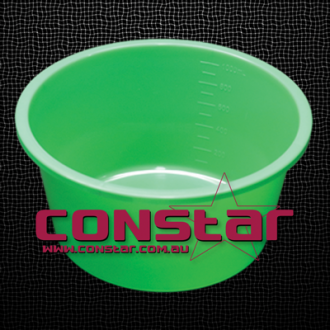 1000ml disposable bowl plastic green