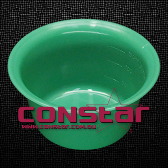 150ml reusable bowl plastic green