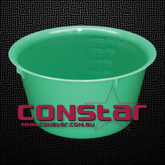 500ml reusable bowl plastic green