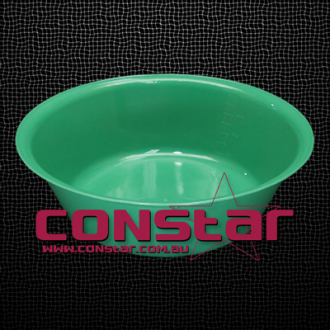 3500ml reusable bowl plastic green