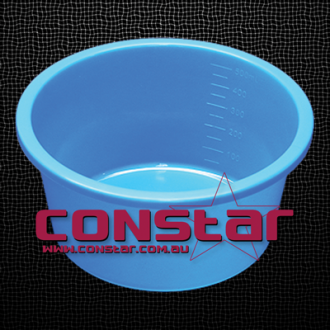 500ml disposable bowl plastic blue