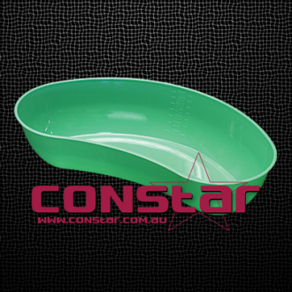 700ml reusable kidney dish plastic green